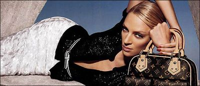 Uma Thurman Louis Vuitton