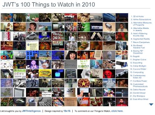 JWT 100 Things